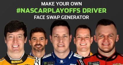 Make My Playoff Driver: Face Swap Generator