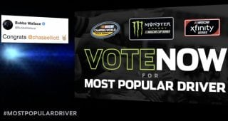 Most Popular Driver vote: Top 5 so far