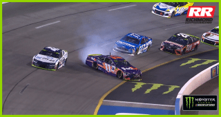 Hamlin makes ridiculous save at Richmond
