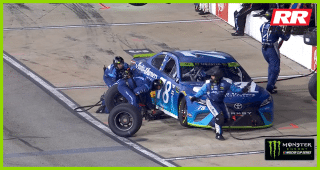 No. 78 team gets pit penalty, gives up lead