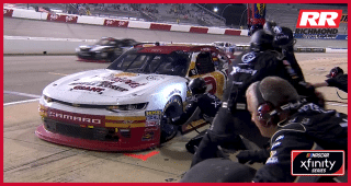 Matt Tifft's crew pumped after winning pit stop battle