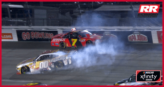 Playoff contenders Allgaier, Custer wreck at Richmond