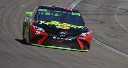 Standings leader Truex Jr. laments loss after dominant Las Vegas day
