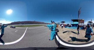 Talladega Car Roll off Grid 360