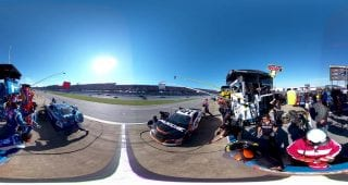 Bowman Smith 360 Talladega Pit Stop