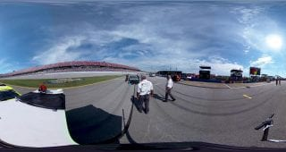 Jamie McMurray Talladega Push to Grid 360