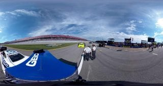 Menard Talladega Push To Grid
