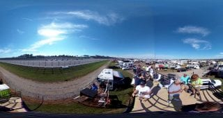 Fan Turn Talladega 360