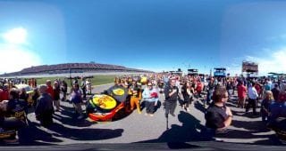 Truex Talladega 360 National Anthem