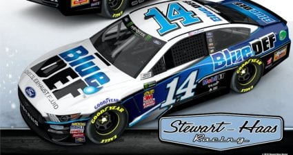 Stewart-Haas Racing partners with PEAK, BlueDEF on Clint Bowyer's No. 14 Ford