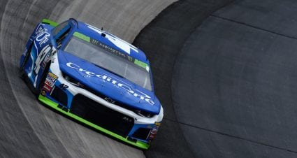 Kyle Larson leads final practice at Dover
