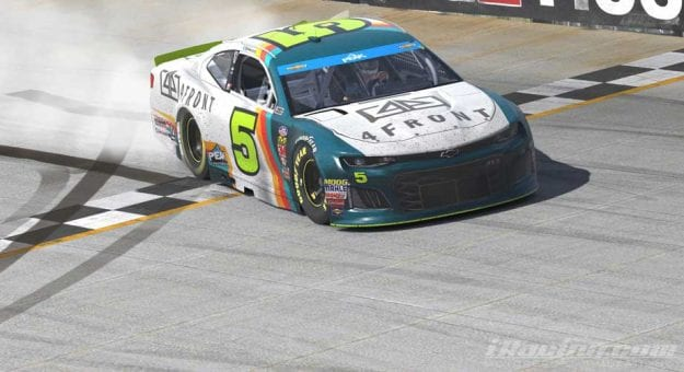 Michael Conti wins iRacing at Dover