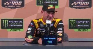 Clint Bowyer checks his ego at the door at Kansas