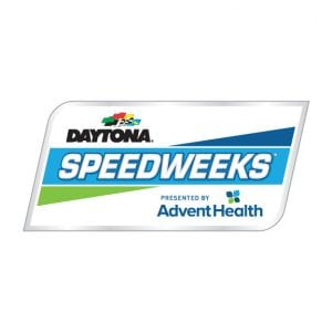 DAYTONA Speedweeks 'AdventHealth new logo