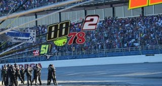 Almirola's pit crew riding confidence after win