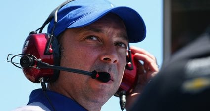 Knaus 'geeked up' about achieving longtime goal in return to No. 24