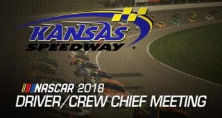 Watch: Driver meeting video for Kansas playoff race