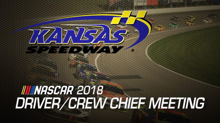 Watch Driver Meeting Video For Kansas Playoff Race