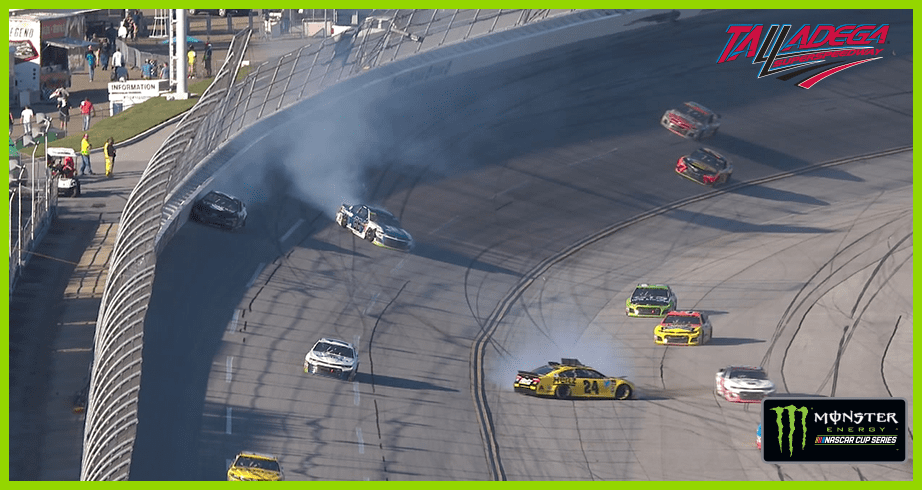 Late wreck shakes up finish, knocks Alex Bowman out