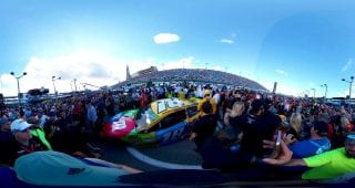 Prerace Busch Homestead Miami Grid 360
