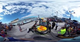 Truex Rollback Homestead Miami 360