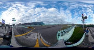 Homestead Miami Race Restart 360