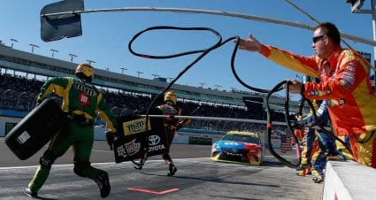 Kyle Busch to have first pit stall in Homestead-Miami — not pole-winner Hamlin