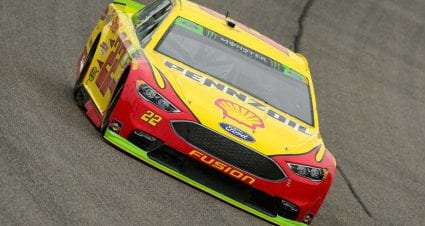 Championship contender Logano leads final practices in Miami