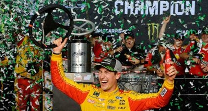 Joey Logano wins at Miami to take 2018 Monster Energy Series title