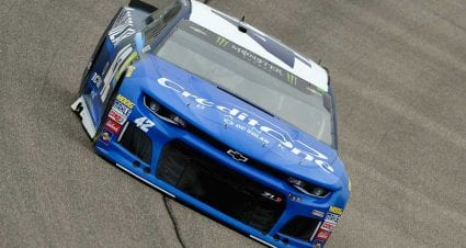 Larson swipes Stage 2, Harvick cruises to Stage 1 win in Miami