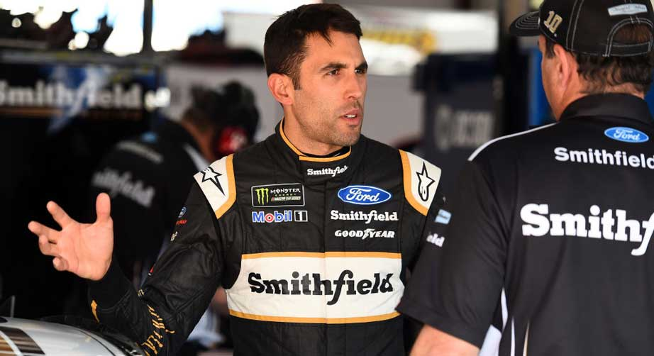 Aric Almirola gives update on Joey Logano | NASCAR.com