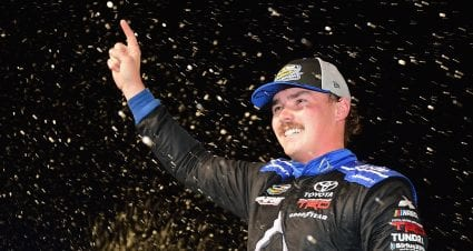 Moffitt takes victory in Miami to win Camping World Truck Series title
