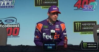 Hamlin on winning in Miami: 'We want to break the streak'