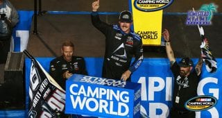 Brett Moffitt after winning title: 'Longest laps of my life'