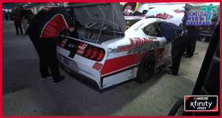 Cole Custer flirts with disaster in final practice