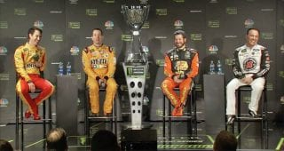 Busch on Logano, Keselowski: 'They both run into you a lot'