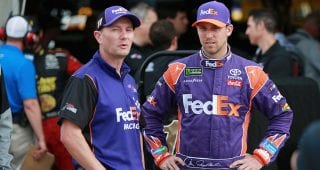 Hamlin reflects on Mike Wheeler in final weekend together