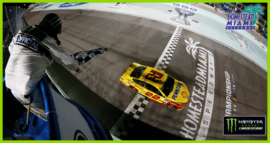Logano's championship-winning pass at Homestead-Miami