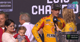 Logano: 'Every mistake has formed me to who I am today'