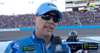 Harvick reflects on up-and-down day in Phoenix