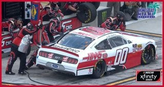 Pit-stop problems cost Cole Custer lead at Miami