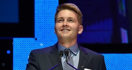 William Byron wins Rookie of the Year, celebrates 21st birthday in Las Vegas