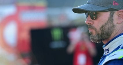 Put it out: One final wreck for Jimmie Johnson in 2018