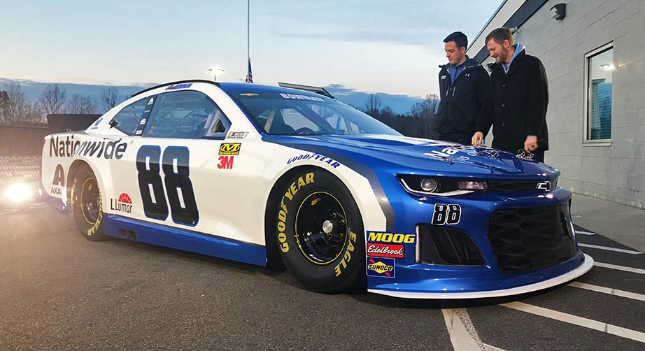 Alex Bowman 2019 Paint Scheme