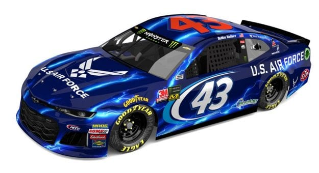 Bubba Wallace Air Force