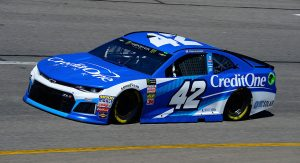 Kyle Larson 2018 Credit One Paint Scheme