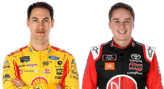 Joey Logano Christopher Bell