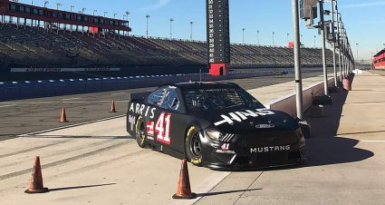 Suarez, Truex ease into new roles, join Logano for Auto Club tire test