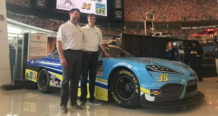 Joey Gase joins MBM Motorsports, helps unveil No. 35 Supra
