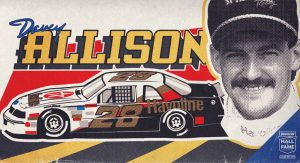 Davey Allison Hall of Fame graphic